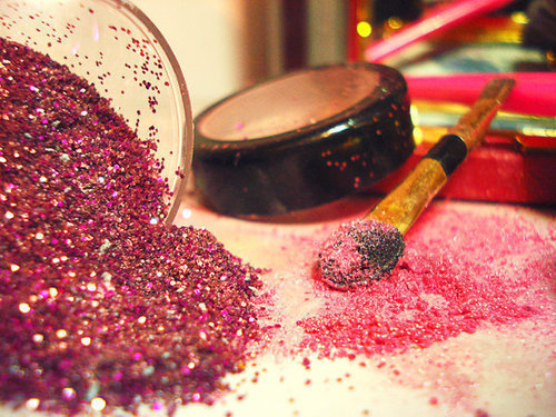 cute, glitter, pink, purple, sweet