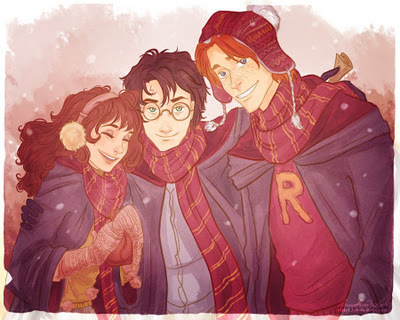 cute, harry potter, illustration