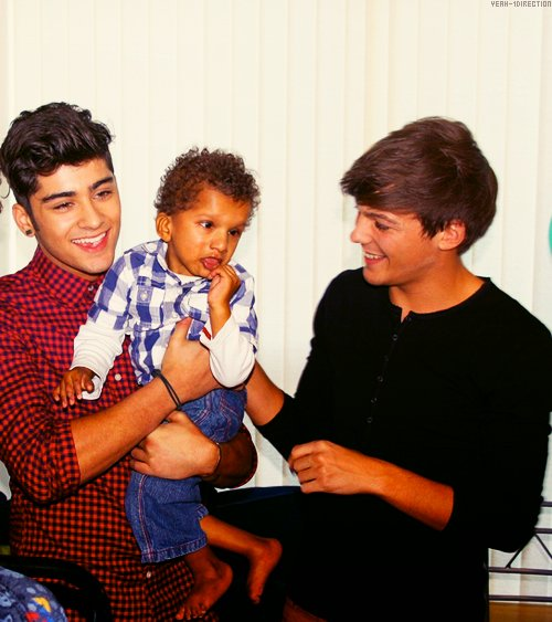 cute, louis tomlinson, one direction, zayn malik