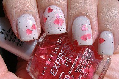 cute, nails, pretty