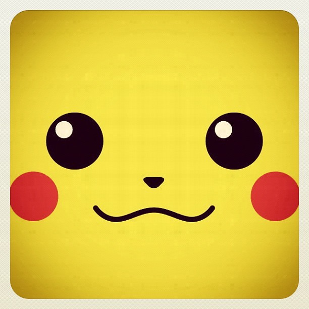 cute, pikachu, pokemon, yellow