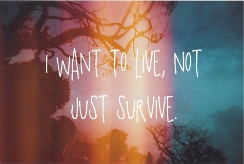 damntrue, laugh, life, live, love, quote, so true, survive, yes
