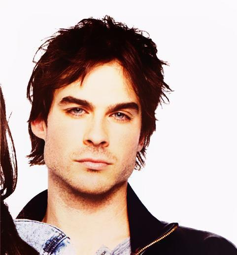 damon salvatore, ian somerhalder, nina dobrev, the vampire diaries