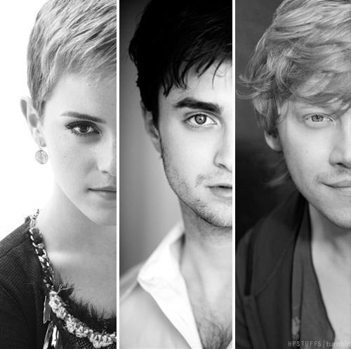 daniel radcliffe, emma watson, harry potter, harry potter cast, rupert grint