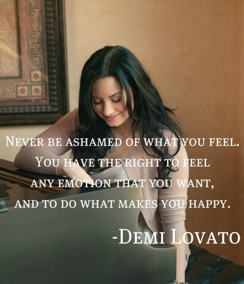 demi lovato, emotion, feel, happy