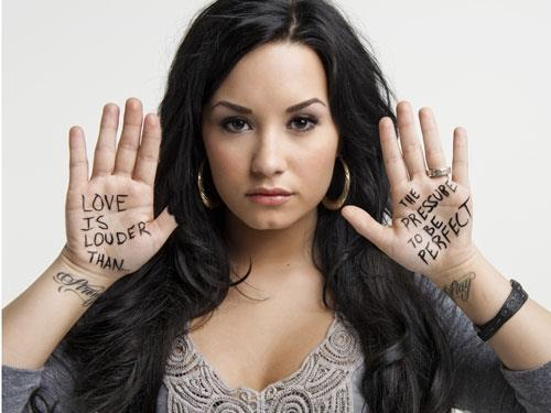 demi lovato, love, stay strong