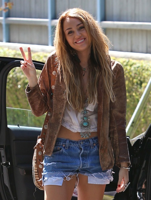 Denim Fashion Gorgous Hair Pretty Hanna Montana