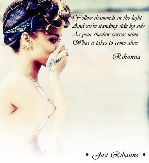 diamond, eyeliner, love, rihanna, tattoo