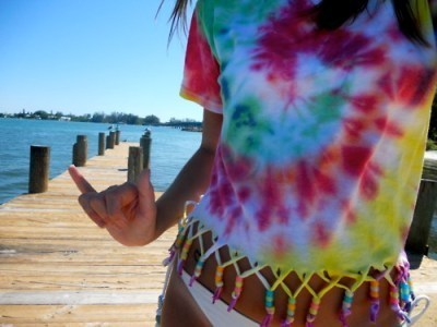 dock, hippie, hippy, peace, shirt