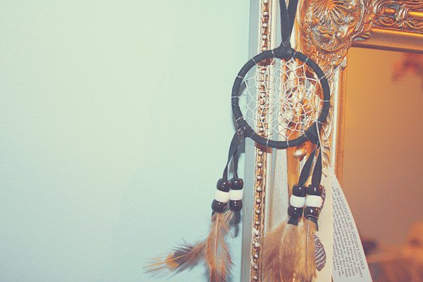 dream catcher, dreams, feathers, vintage
