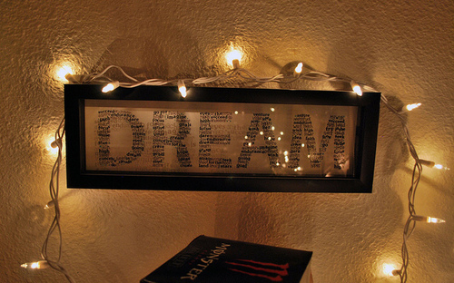 dream, lights, room