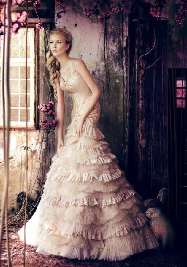 dress, fairytale, fashion, women