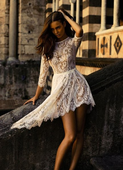 dress, fashion, lace, summer