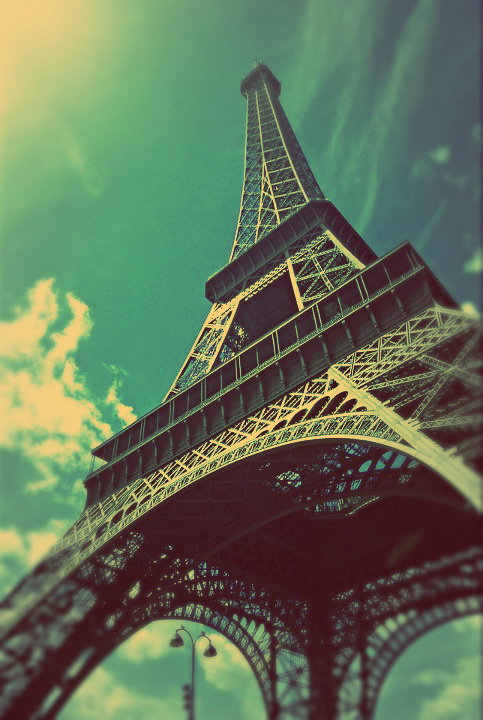 eiffel tower, france, paris, photography