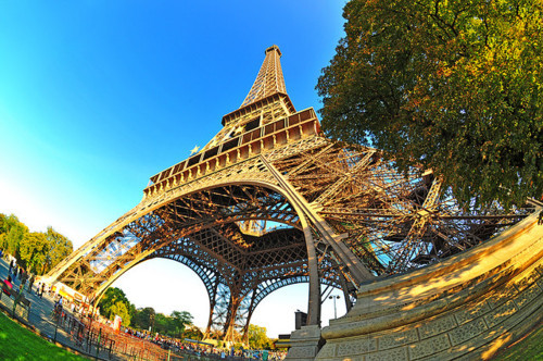 eiffel tower, paris, photography