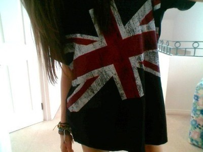 england, girl, london, t shirt