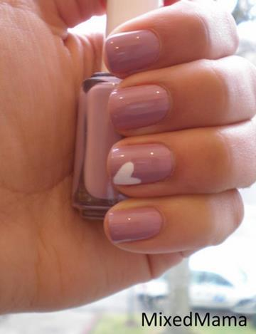 essie, hand, heart, nail, nail art
