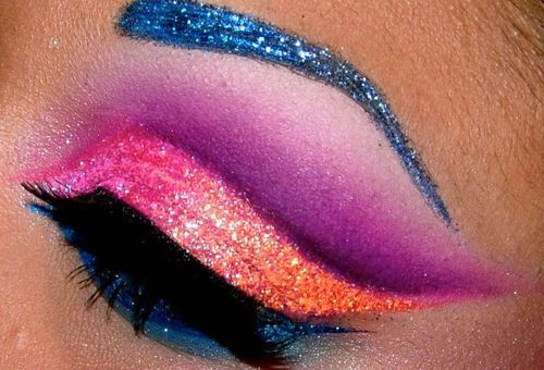 eye, glitter, make up, pretty, sparkles