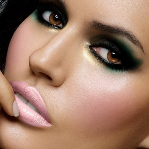 eyes, glamour, lips, mac, make