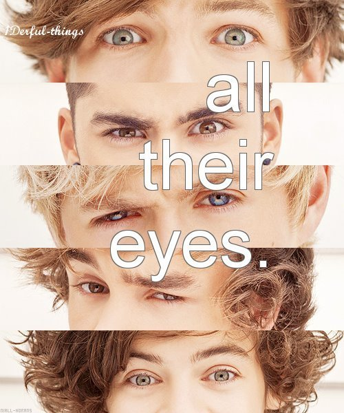 eyes, harry styles, liam payne, louis tomlinson, niall horan, one direction, zayn malik