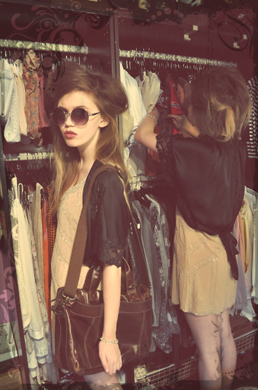 fashion, girl, girls, hair, sunglasses, vintage