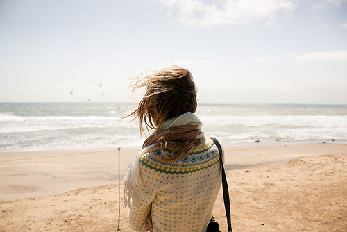 fashion, girl, indie, nature, photography, sea, summer, vintage