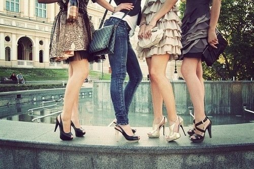 fashion, girls , heels