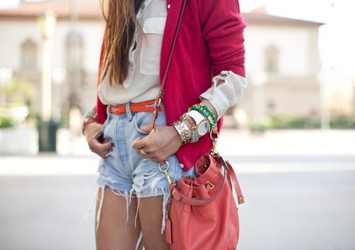 fashion, gold, red
