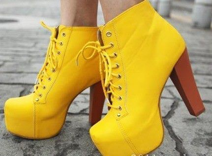 fashion, heel, heels, high heels, yellow heels
