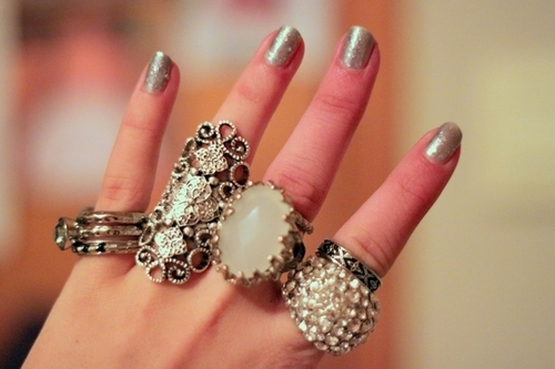 fashion, jewelry, nails, pretty, rings