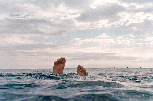 feet, photography, sea, sky, summer