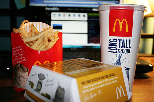 food, mcdonalds, photography