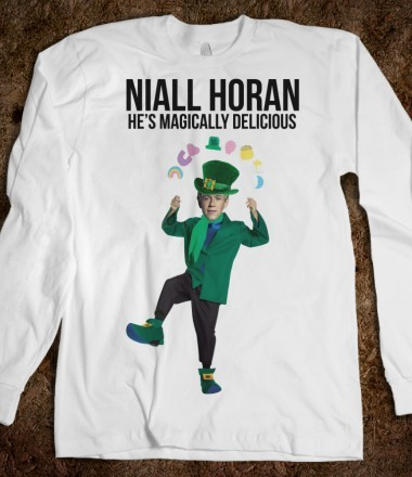 funny, irish, long sleeve shirt, lucky charms, niall horan, one direction