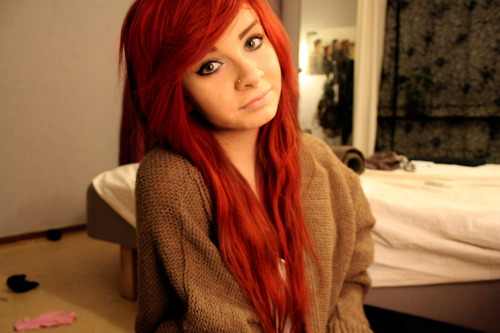 gabwie, girl, red hair