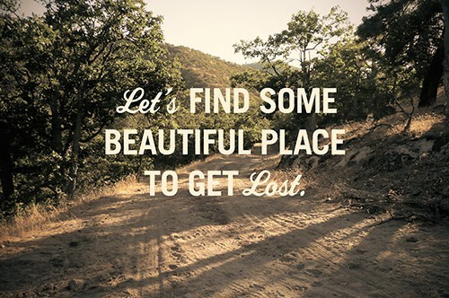getting lost, love, nature, younglove