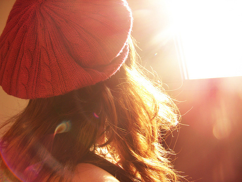 girl, hair, hat, photography