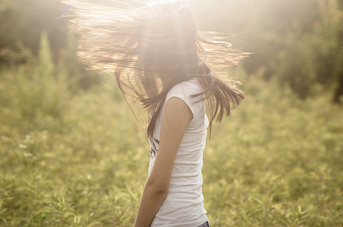 girl, hair, photography