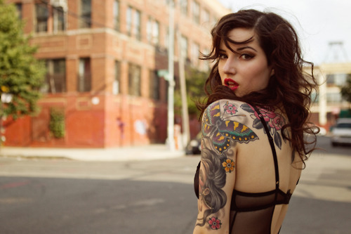 girl, hot, pretty, tattoos