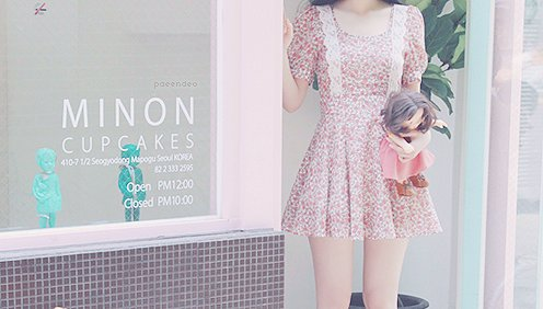 girl, kfashion, korean fashion, pink, style