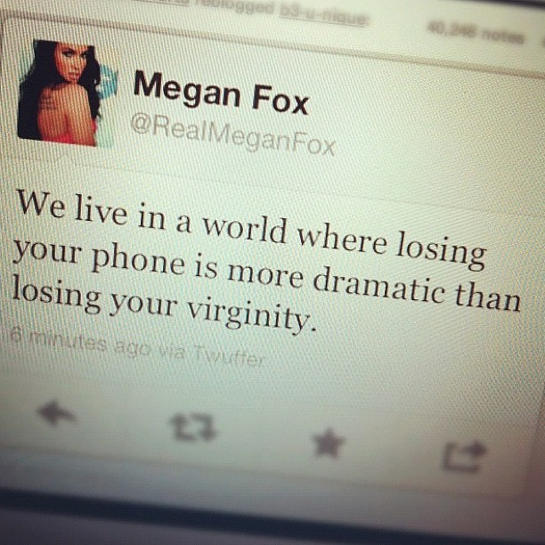 girl, lol, megan fox, phone, photography