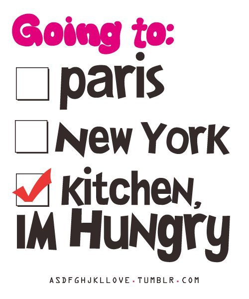 haha, kitchen, lol, new york, paris, quote, text