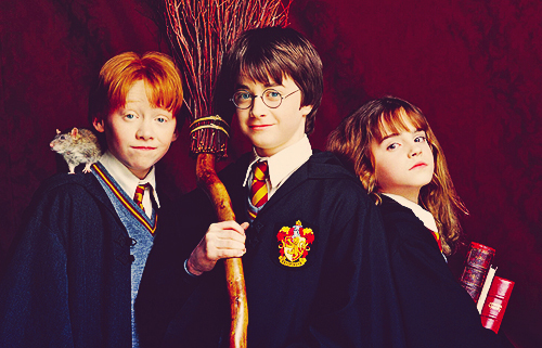 harry potter, hermione granger, ron weasley
