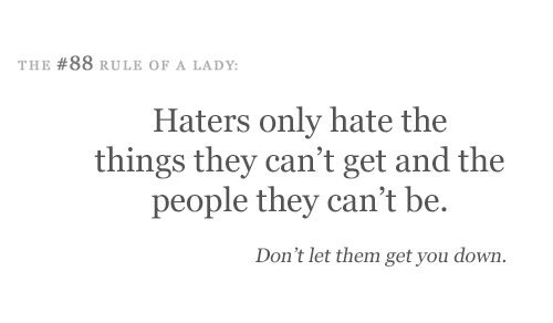 haters, life, people, text, true