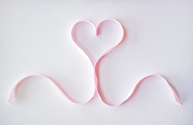 heart, pastel, pink, ribbon, stuff