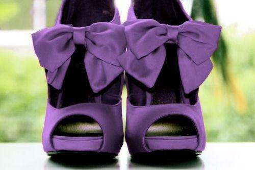 high heels, photograph, purple, shoes