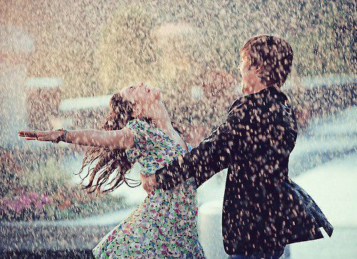high school musical, love, photography, rain, vanessa hudgens, zac efron