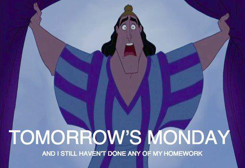 homework, monday, my tumblr, text, true story