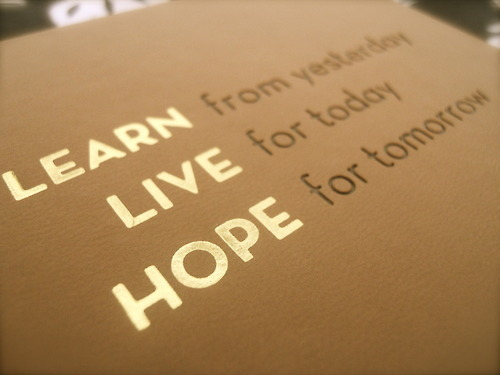 hope, learn, life, live, text
