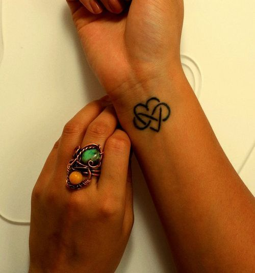 infinity, love, tattoo