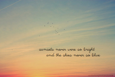 inspirational, pretty, skies, sunsets, text